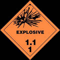 Explosives Divison 1.1