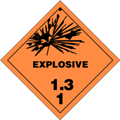 Explosives Division 1.3
