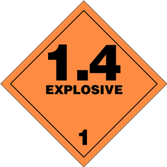 Explosives Division 1.4