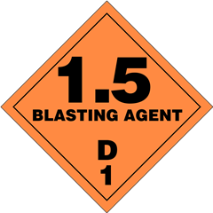 Explosives Division 1.5