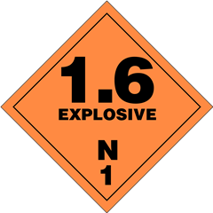 Explosives Division 1.6