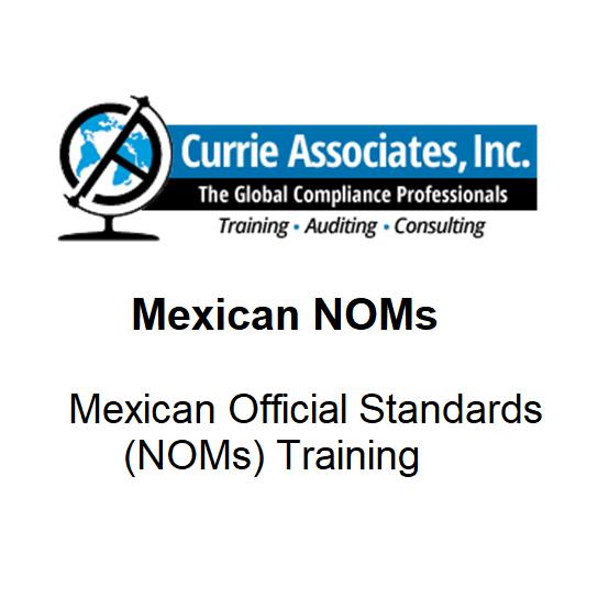Mexican NOMs