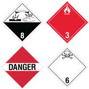 International HazMat Placards