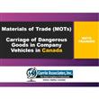 Materials of Trade Canada (MOTs)