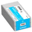 Epson GJIC5(C) Cyan Ink Cartridge <br />for the ColorWorks C831 <br />Inkjet Label Printer