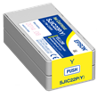 Epson SJIC22P(Y) Yellow Ink Cartridge <br />for the ColorWorks C3500 <br />Inkjet Label Printer
