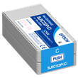 Epson SJIC22P(C) Cyan Ink Cartridge <br />for the ColorWorks C3500 <br />Inkjet Label Printer