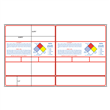 """#3 GlobaLabel <br/>8.5"""" x 14"""" <br/>GHS Chemical Label Sets <br/>w/NFPA Diamond"""