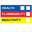 "HMIS® Label <br/>w/o Personal Protection <br/>4"" X 4"", Paper, 500/roll"