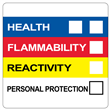 "HMIS® Label <br/>with Personal Protection <br/>4"" X 4"", PVC-Free Poly, <br/>500/roll"