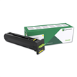 Lexmark CS820 <br />Yellow Extra High Yield <br/>Return Program Toner Cartridge