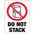 "DO NOT STACK <br/>3"" x 4.125"" Label <br/>Gloss Paper, 500/roll"